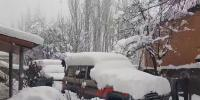 Snow Fall Continue From Last 24 Hours In Skardu And Baltistan Division