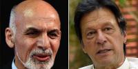 Imran Khan Accepts Ashraf Ghanis Invitation To Visit Afghanistan