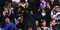 15 Thousand Saudi Women Watch Football Match