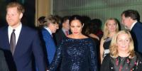 Harry And Meghan Attend Circus In London