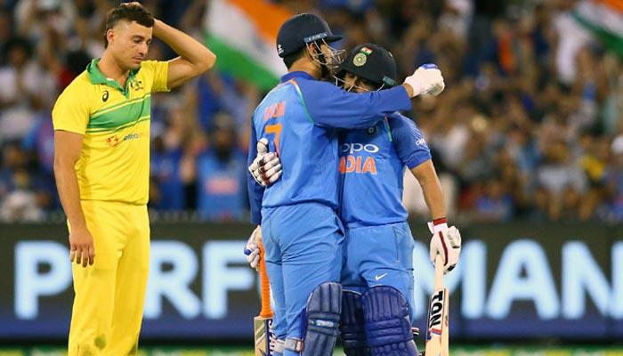 بھارت نے آسٹریلیا کیخلاف ون ڈے سیریز بھی جیت لی