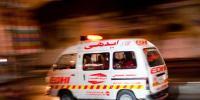Karachi National High Way Water And Oil Tanker Collision3 Injured
