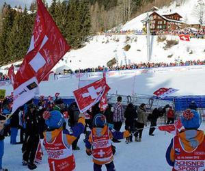 سوئزرلینڈ میں اسکیئنگ کے عالمی مقابلے