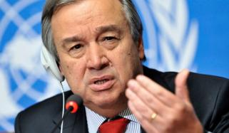 Un Chief Hopes For Meaningful Pakistan India Dialogue