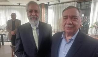 Justice Lokur Attends Swearing In Of Pakistan Chief Justice Shares Bench With Him