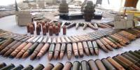 Levies Force Recovered Hidden Weapons In Tehsil Bara