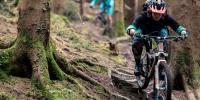 Mountain Biker Makes Epic Descent On Downhill Trail In France