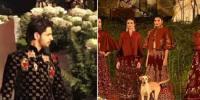 Stray Dog Hijacks Sidharth Malhotras Ramp Walk At Fashion Show Poses With Models
