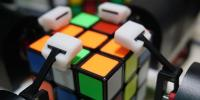 Robot Solving Rubiks Cube In 10 Seconds China