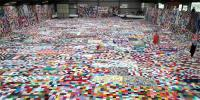 Mad Cap Idea 32 Countries Creating Worlds Largest Knitted Blanket