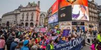 Women Around The World March Against Violence