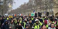 Franceyellow Vests Protests Continue Against President Macron