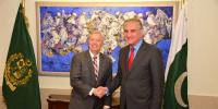 Us Senator Lindsey Graham Called On Foreign Minister Shah Mahmood Qureshi In Islamabad Today