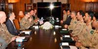 Centcom Chief Meet Chief Of Army Staff