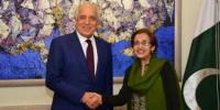 Zalmay Khalilzad Meets Important Leaders During Visit Of Pakistan Us Embassy