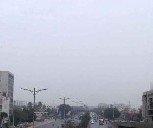 کراچی میں تیز بارش، موسم خوشگوار