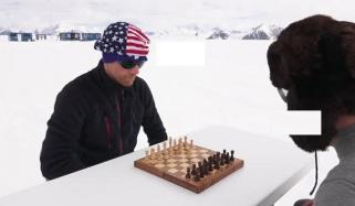 Crazy Chess Players Does Amazing Match In Antarctica