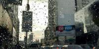 Rain Water On Roads Of Karachi