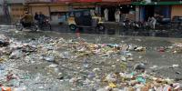 Sewerage Water And Garbage In Quetta After Rain