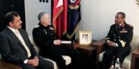 Pak Naval Chief Admiral Zafar Mehmood Abbasi On Bahrains Official Visit