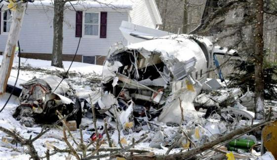Plane Crashed Into The Front Yard Of Ohio Home