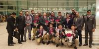 Asian Junior Champions Pakistan Team Reach At Home