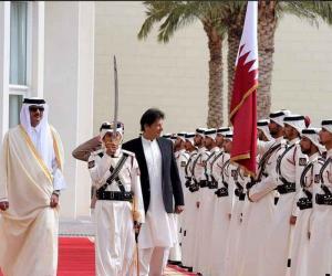 وزیر اعظم عمران خان کا دورہ قطر