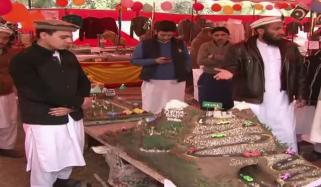 Arts And Food Festival In Madrasa Of Naushera