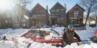 Heavy Snowfall In America Uk And Other European Countries