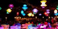 Dozens Of Colorful Lanterns Light Up Sky
