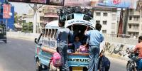 Karachi School Van Driver Call Strike