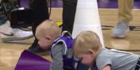 Watch Video Of Babies Racing At Sacramento Kings Game