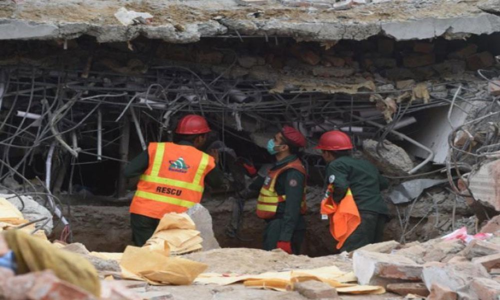 سرگودھا: سلنڈر دھماکے سے چھت گر گئی، 4 افراد دب گئے
