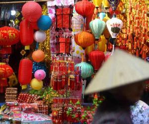 چین میں نئے قمری سال کی تیاریاں