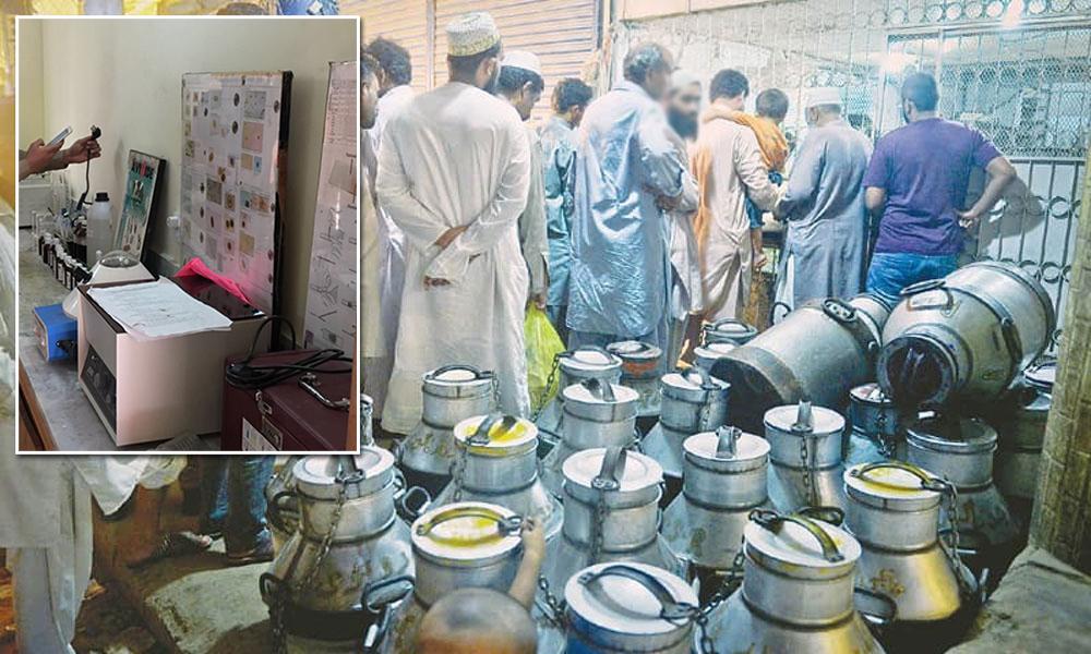 پشاور: 6 ہزار لیٹر مضر صحت دودھ ضائع کر دیا گیا