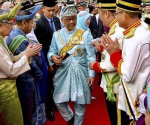 ملائیشیا، نئے بادشاہ کے اعزاز میں تقریب
