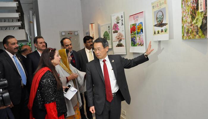 لاہور میں جاپانی کیلنڈرز کی نمائش