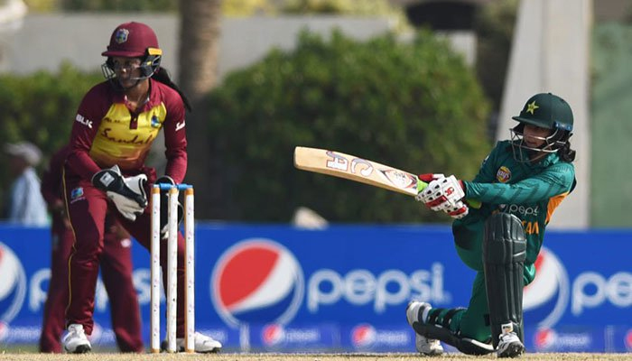 پاکستان وویمن کا ویسٹ انڈیزکو جیت کیلئے 133رنز کا ہدف