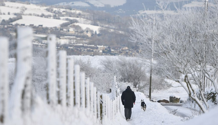 برطانیہ میں برفباری کا طوفان،سردی شدت اختیار کرگئی