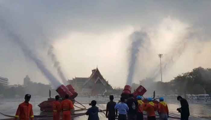 تھائی لینڈ ، آلودگی کے خلاف میٹھے پانی کا اسپرے