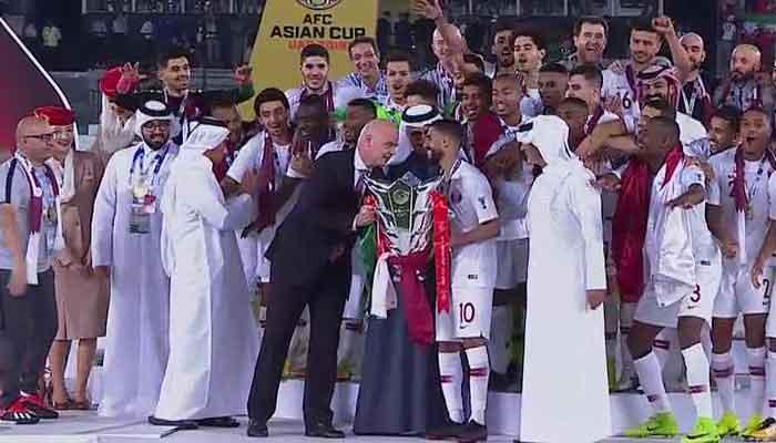 قطر پہلی بار فٹ بال کا ایشین چیمپین بن گیا