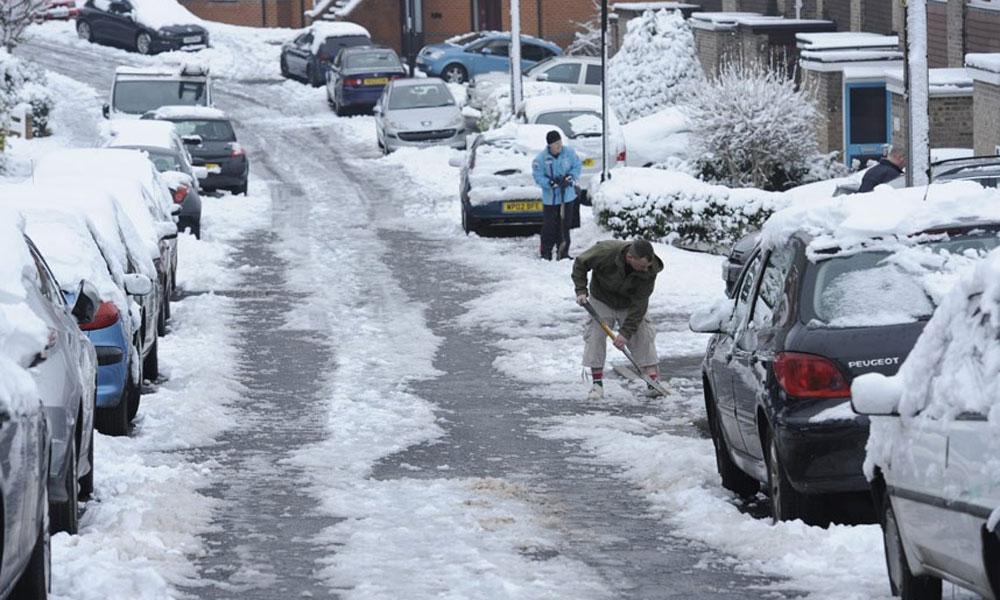 برطانیہ میں آج سال کی سردترین رات ہونے کی پیش گوئی