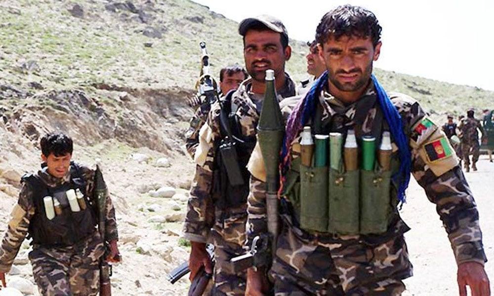 افغان فورسز کے فضائی حملوں میں 12 طالبان ہلاک