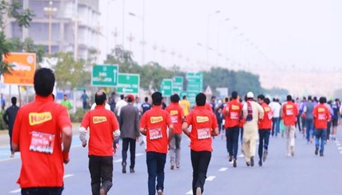 کمشنر کراچی میراتھن ہارون گل نے جیت لی