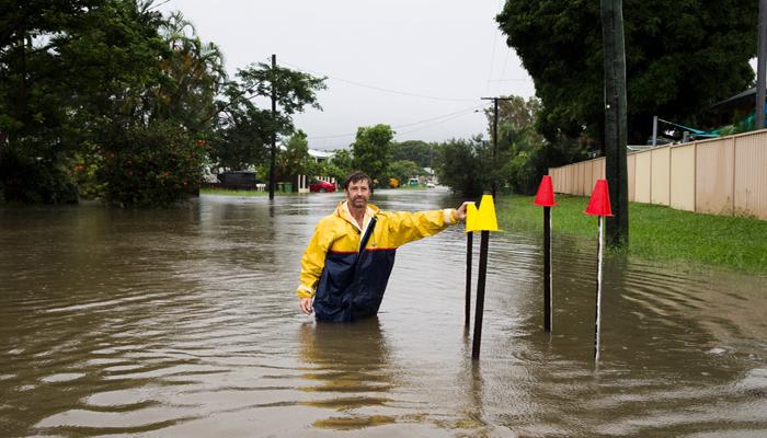 آسٹریلیا:بارشوں سے رہائشی علاقے زیر آب، نظام زندگی متاثر