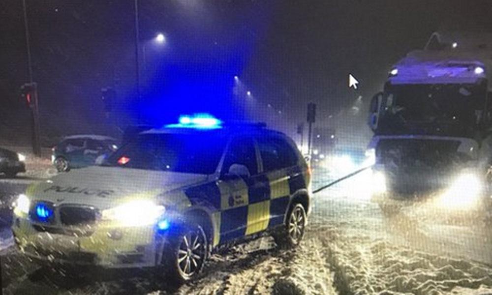 برطانیہ شدید سردی برقرار، پارہ منفی 14 تک گر گیا