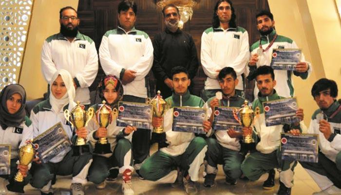پاکستانی کک باکسنگ ٹیم کی انٹرنیشنل ایونٹ میں عمدہ پرفارمنس