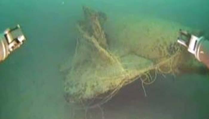 دوسری جنگ عظیم میں ڈوبنے والی جرمن آبدوز دریافت