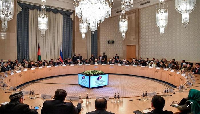 ماسکو میں افغان اپوزیشن کانفرنس کا پہلا دور ، کرزئی اور طالبان شریک