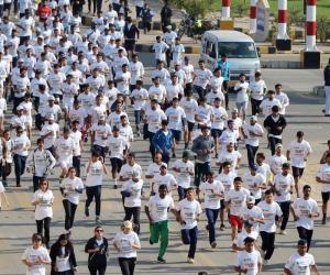 کراچی،میراتھن ریس کی جھلکیاں